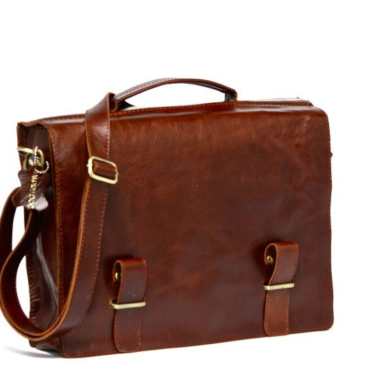 Vintage Leather Book Bags Bag