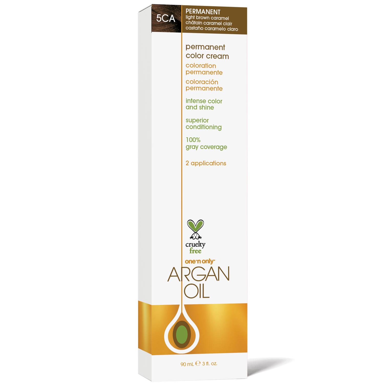 One N Only Argan Oil Permanent Color Cream 5ca Light Brown Caramel By Argan Oil Permanent Hair Color Argan Oil Oils Sally Beauty Supply
