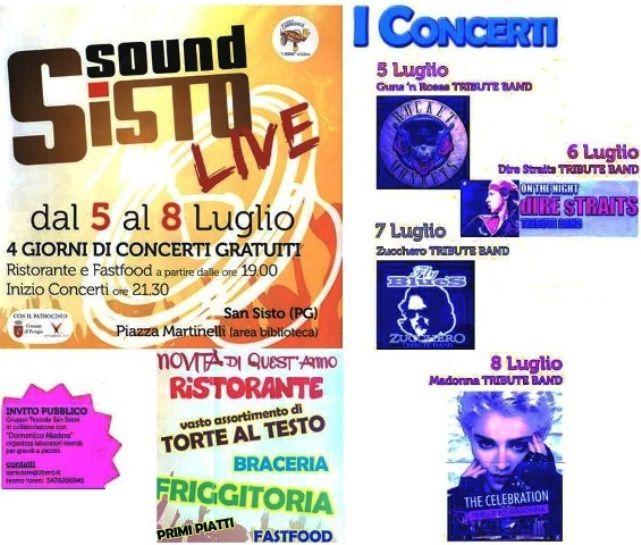 SanSistoSoundLive/ Fino a martedì 8 luglio concerti gratuiti nell'area della Biblioteca