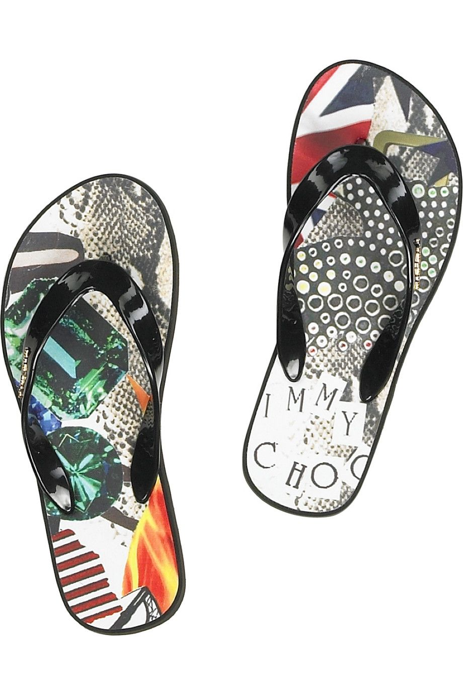 Jimmy Choo flip flops