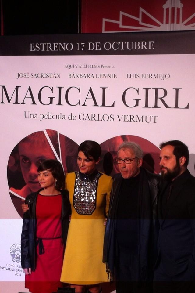 Presentación de la película Magical Girl, de Carlos Vermut, el 16 de octubre de 2014