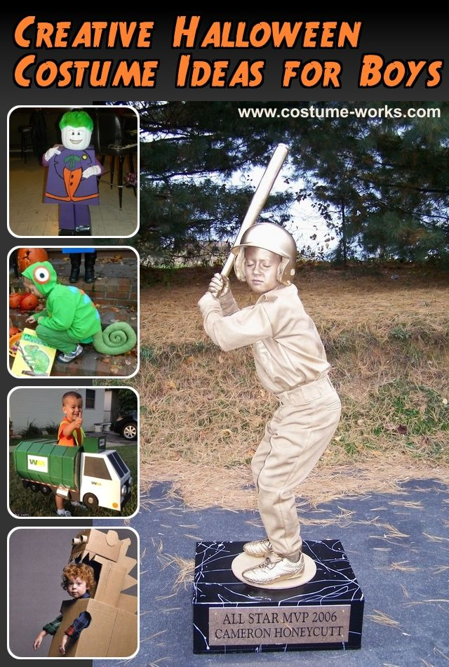 30 Creative Halloween Costume Ideas for Boys | Creative halloween ...