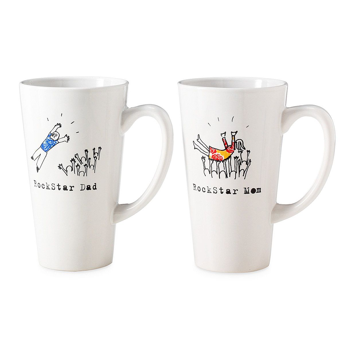 rockstar dad or mom mugs mother s day gift ideas pinterest mom