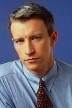 Anderson Cooper With Brown Hair Is Muscular Getting Off The Mta Oh No They Didn T