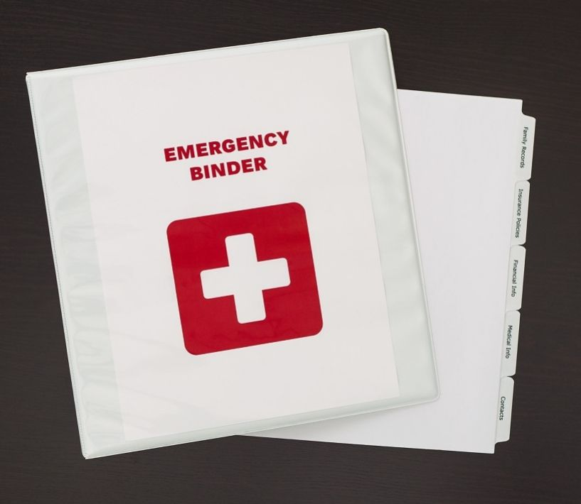 A DIY Grab-and-go Emergency Binder In Case Of Disaster