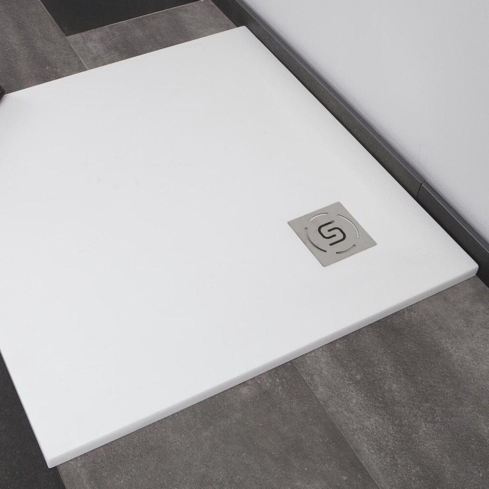 Duschwanne Duschtasse Bodengleich Dusche Flach Mineralguss Struker Square Stone Ebay In 2020 Duschwanne Duschtassen Dusche