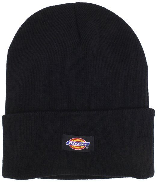 1ca8e2dfc99964 Dickies Men's 14 Inch Cuffed Knit Beanie Hat, Black, One Size at Amazon  Men's Clothing store: Skull Caps