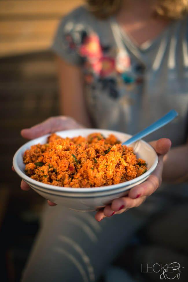 Bulgursalat mit Ajvar | LECKER&Co | Foodblog aus Nürnberg
