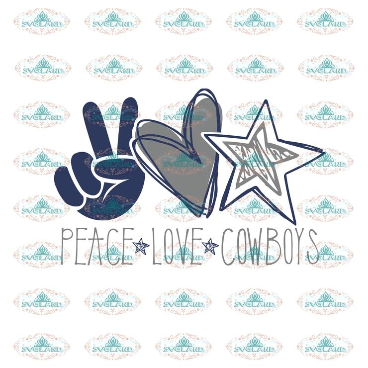 Download Peace, love, cowboys, Dallas cowboys, dallas, college ...