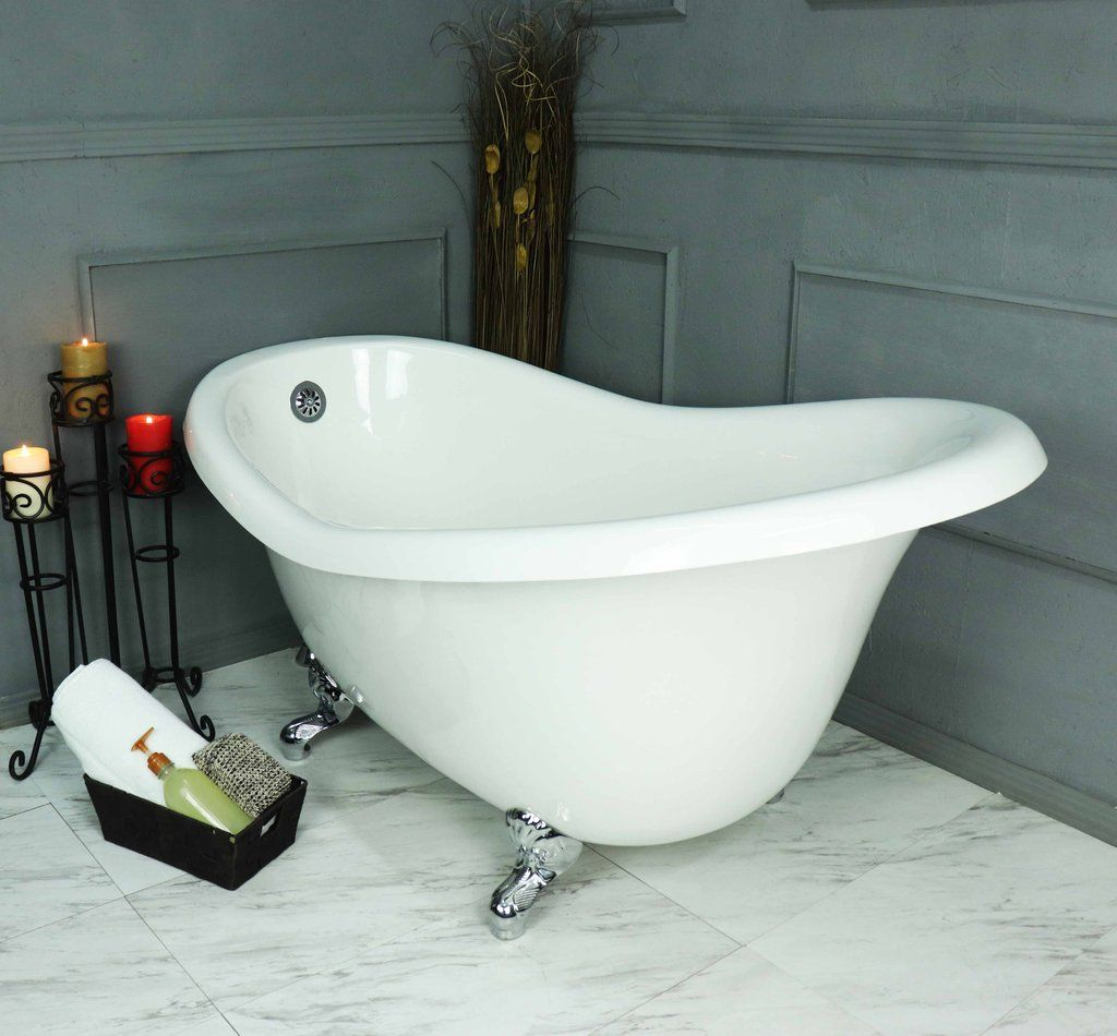 Clawfoot slipper bathtub clawfoot tub bathroom bathtub
