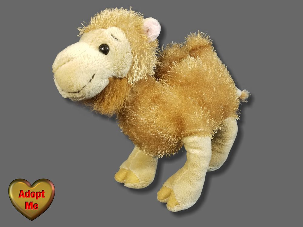 Ganz Webkinz Bactrian 2 Humped Camel Stuffed Plush Animal 9in GANZ