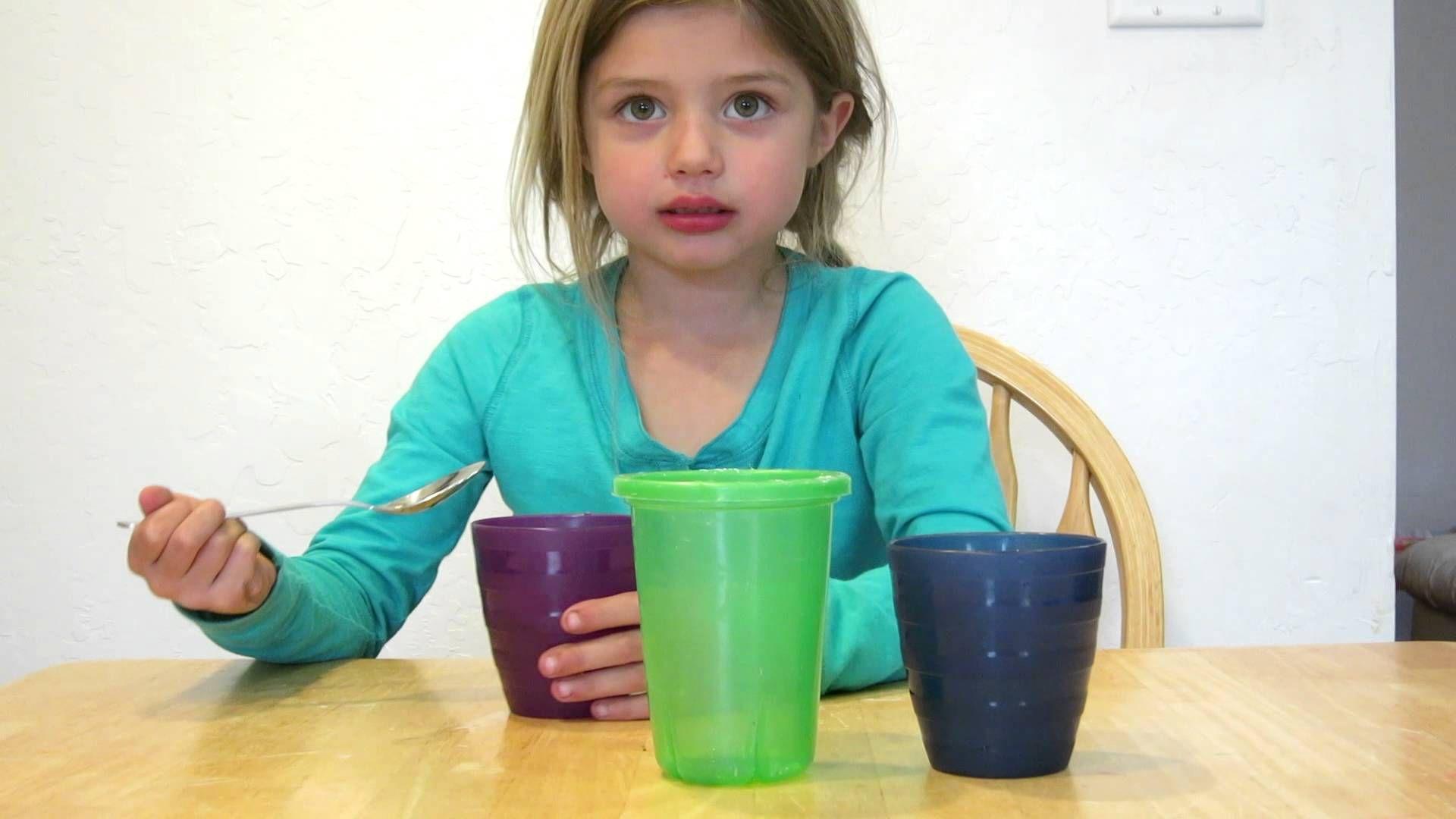 Kindergarten Science If You Mix Salt Water And Fresh