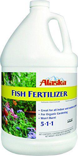 Alaska Fish Emulsion Fertilizer 5 1 1 Concentrate 1 Gallon 400 x 300