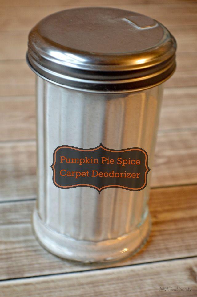 Diy Pumpkin Pie Spice Carpet Deodorizer Carpet Deodorizer Diy