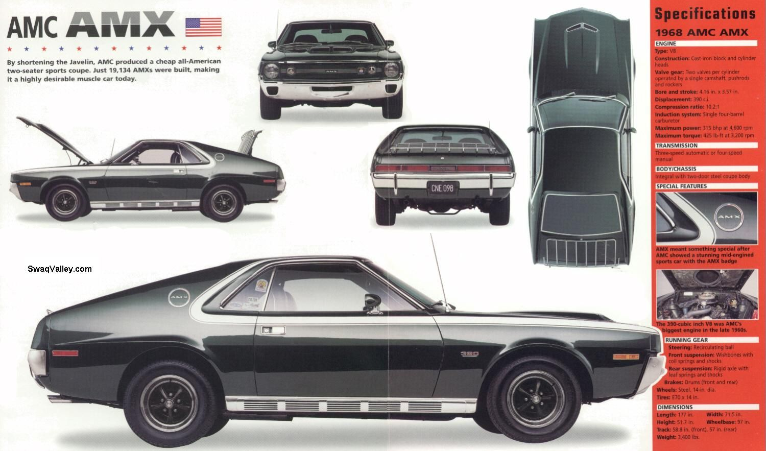 American Power, American Muscle! | Amc javelin, Cars and Jeeps