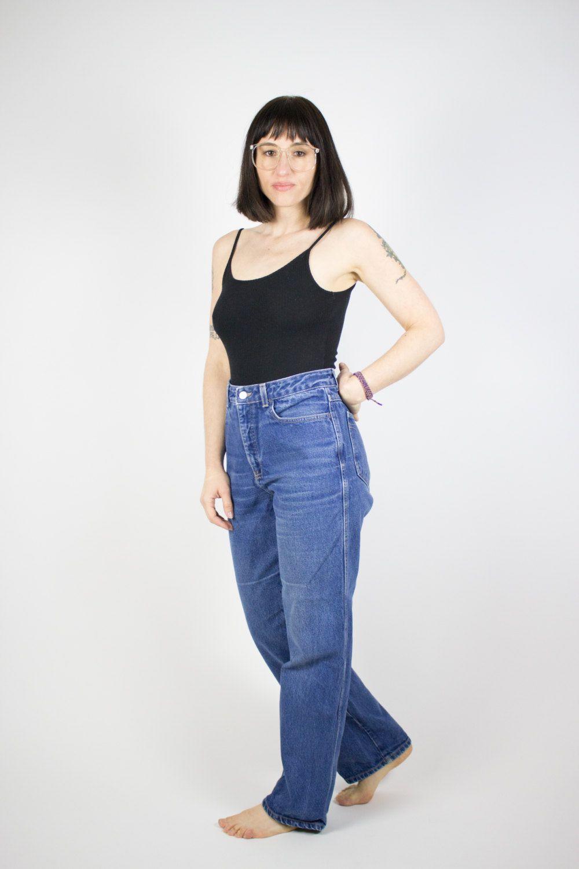 Vintage Calvin Klein Jeans 90s High Waisted Denim Mom Jeans Size 10 High Waisted Denim Mom Jeans Calvin Klein Jeans