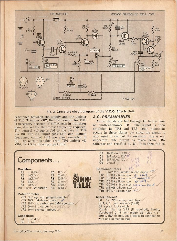 Pin By James F Ellis On Pedal Schematics In 2019 Circuit