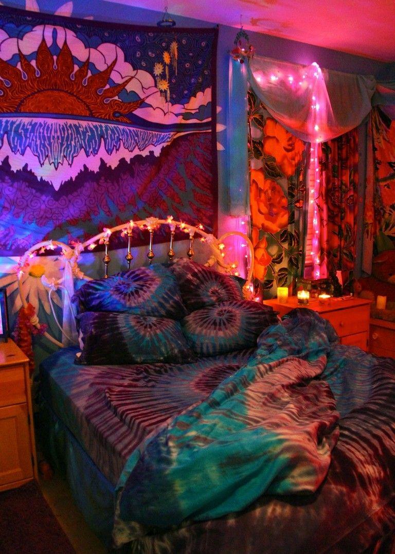 20+ Awesome Hippie Bedrooms Ideas | Boho bedroom diy ...