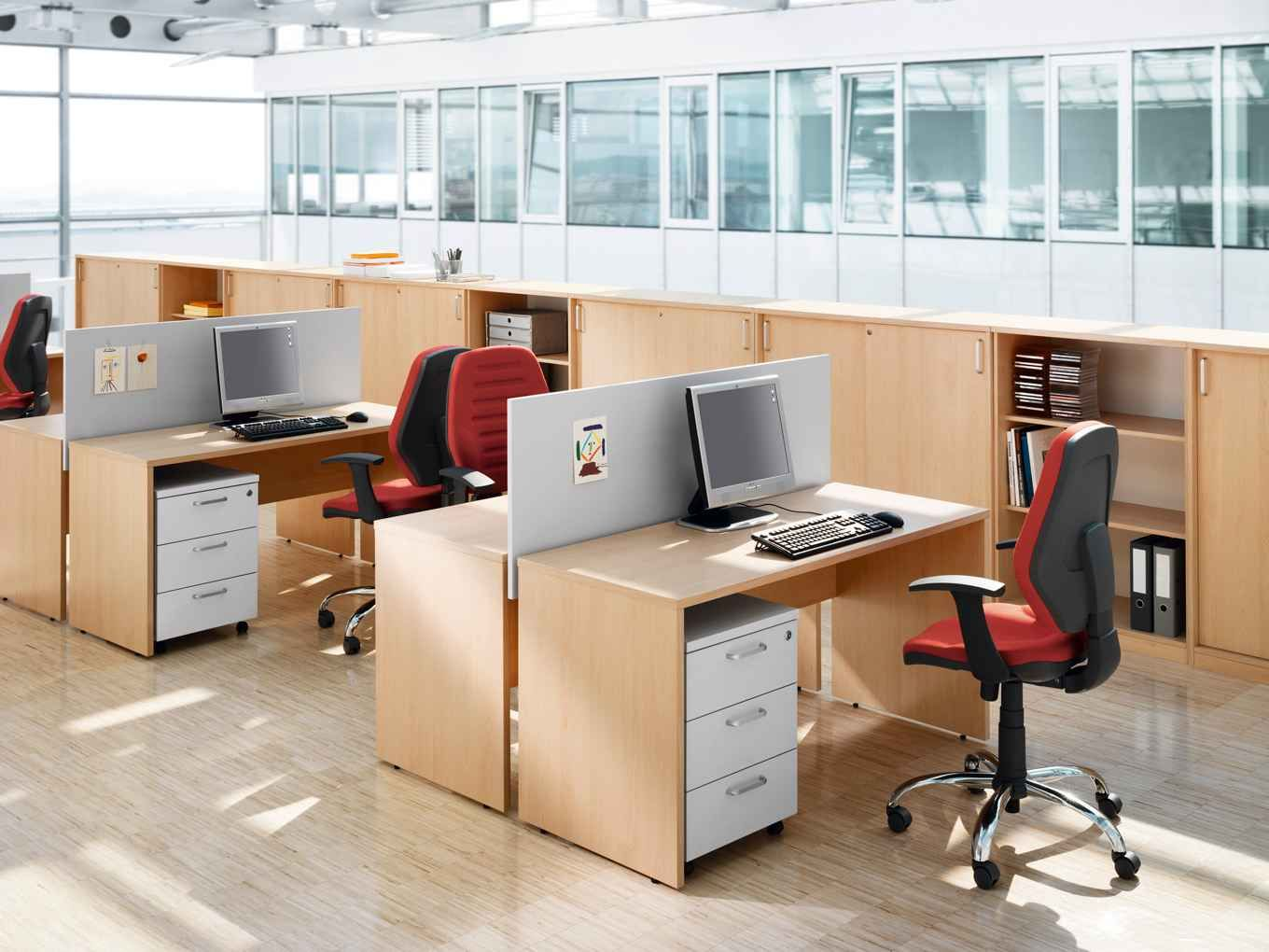 Captivating Nice Commercial Office Furniture Design