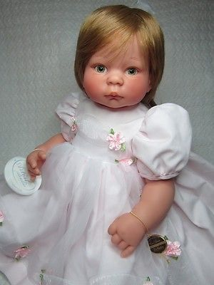 "Lee Middleton ""Sweet & Innocent"" by Reva Schick, 22"" precious collectible baby"