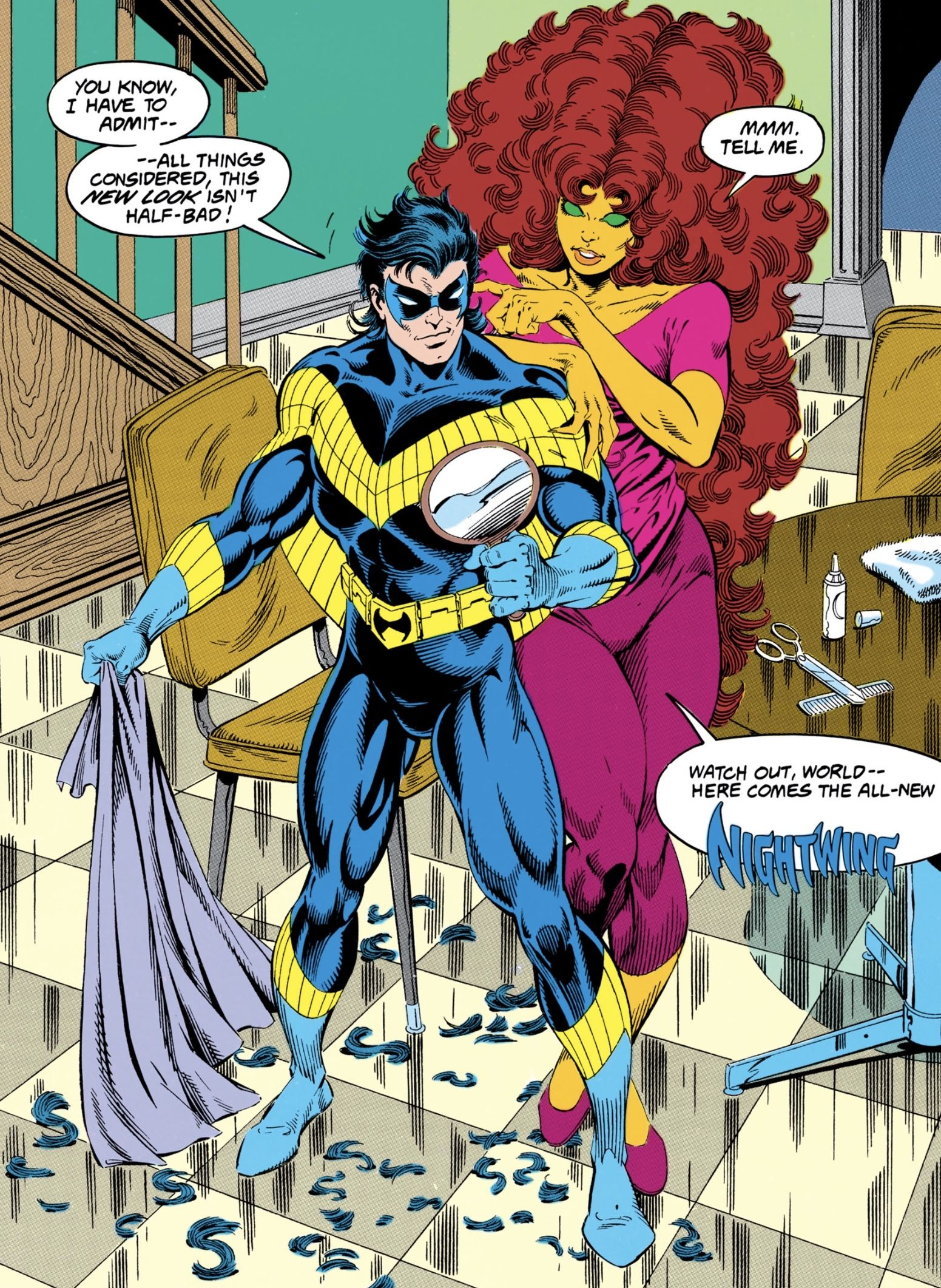 Pin by worldofcolin on Robin | Nightwing and starfire
