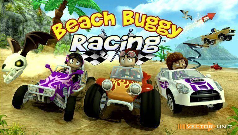 تحميل لعبة Beach Buggy Racing V 1 2 17 مهكرة للاندرويد اخر اصدار