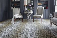 Karastan's Exotics Collection of animal prints allows you to walk on the wild side of design. Majestic Leopard #carpet
