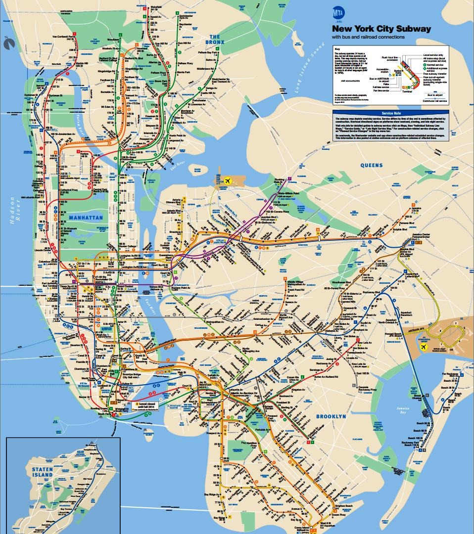 New York Subway Map New York City Subway Circles Map Offers A - Nyc rat map