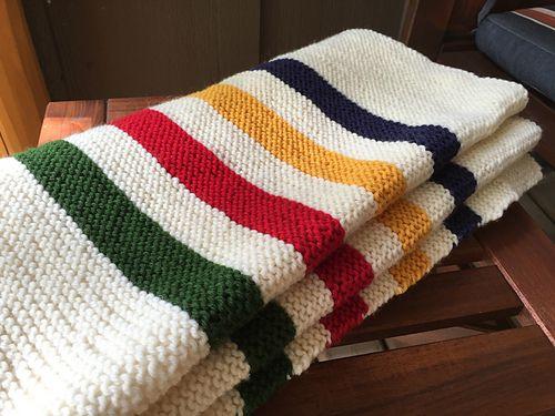 Ravelry Kristieinbc S Hudson S Bay Blanket Blanket