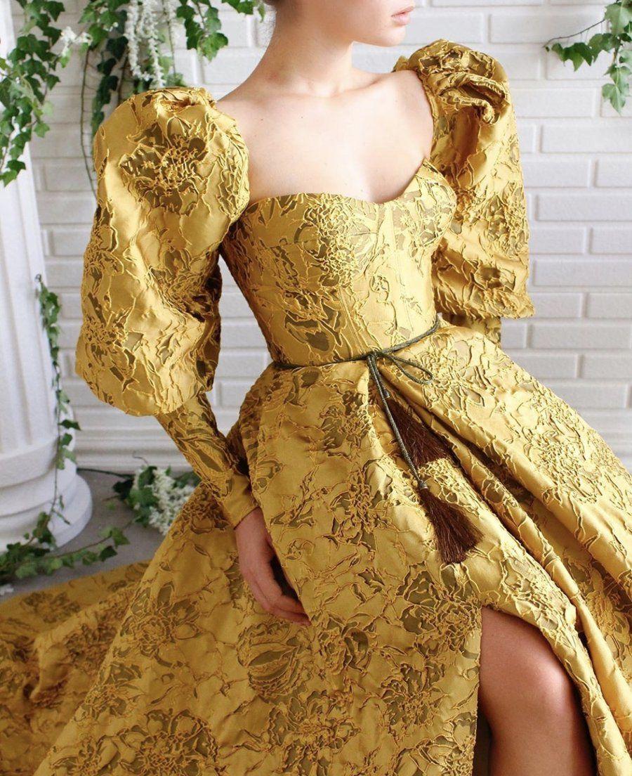 Serafina Puff Sleeve Gown Fairytale Dress Ball Dresses Dresses [ 1104 x 900 Pixel ]