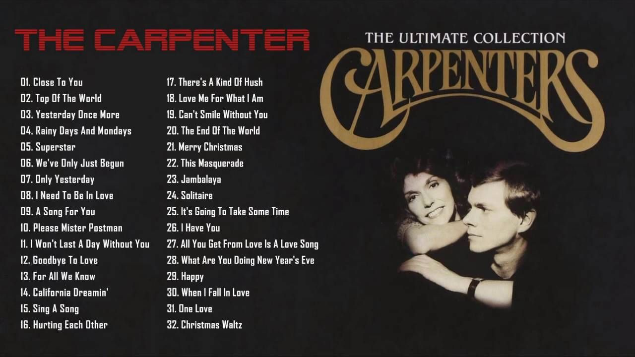 The Carpenters Gold: 35 Greatest Hits | Best Songs Of The Carpenters ...