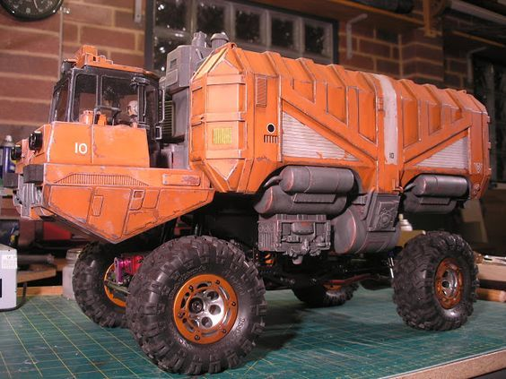 RC Sci Fi: Toy Bash Truck part 7: