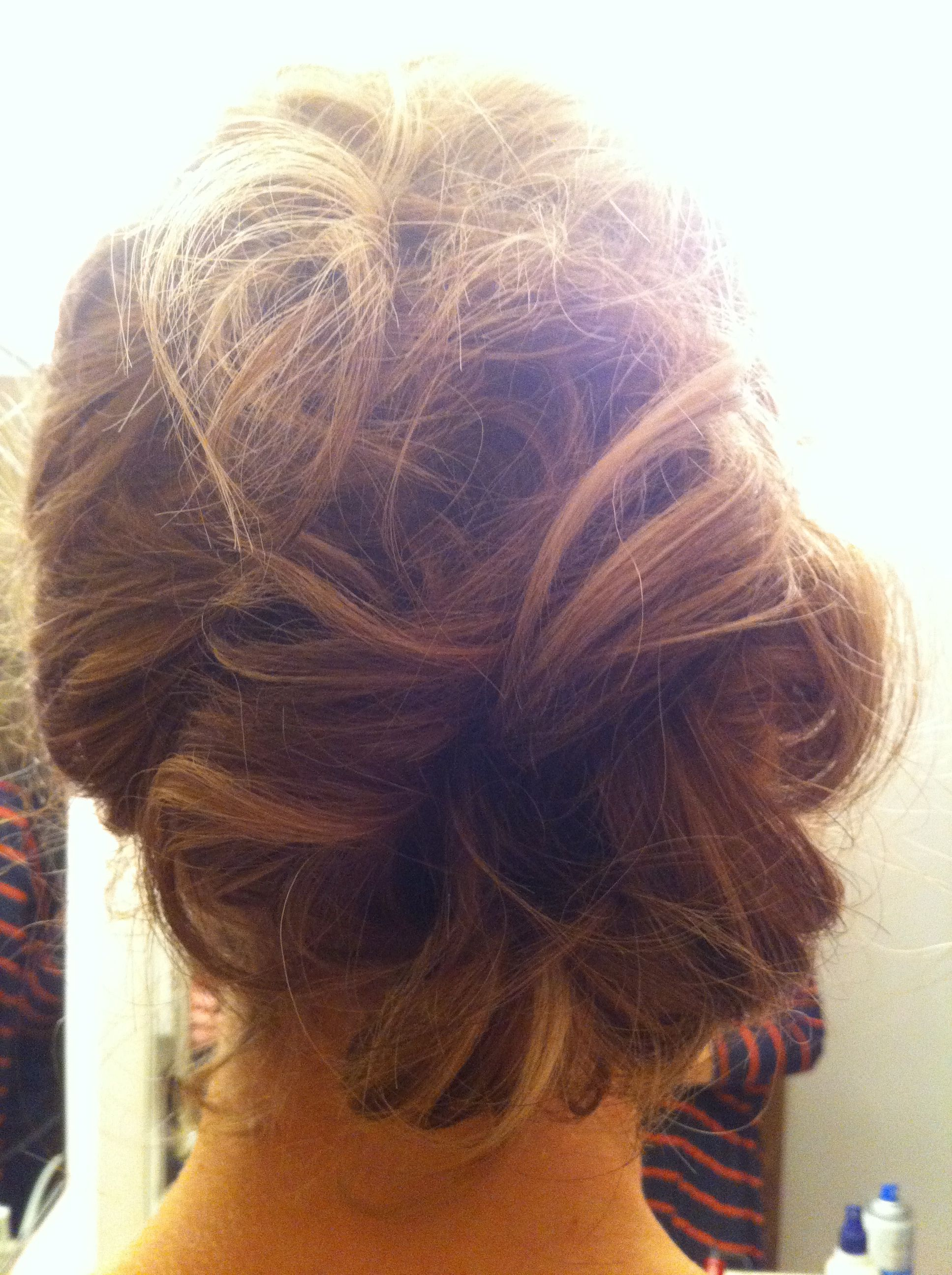 Cute wedding hair maybe a bridemaids hairstyle my fall wedding