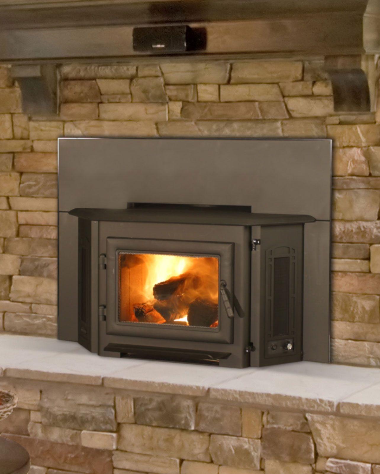 QuadraFire 3100i Wood Insert Fireplace inserts, Wood