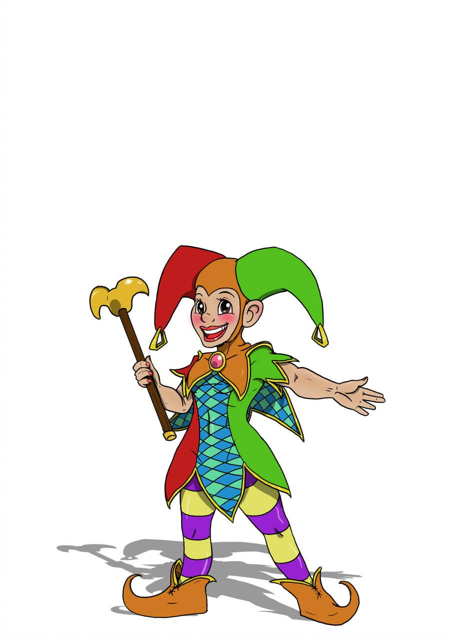 Happy The Jester Happy Glede A Playful Whimsical Halfling Jester