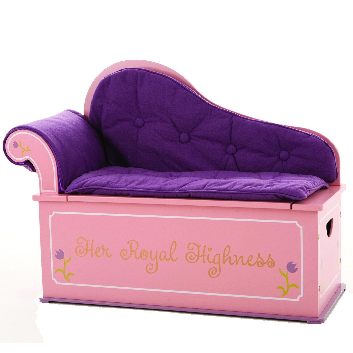 Levels Of Discovery Princess Fainting Couch W Storage