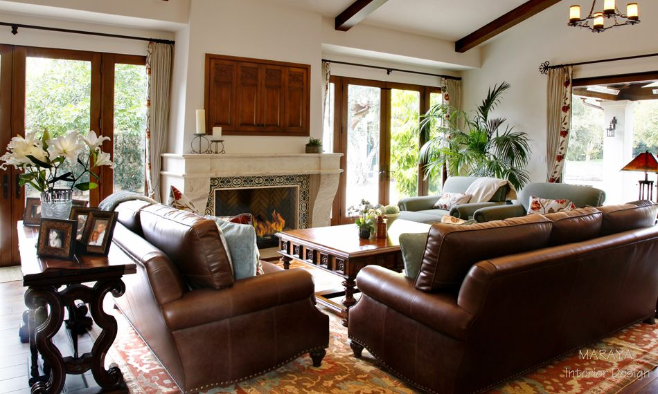 Santa Barbara Style Interior Design Design Projects Throughout