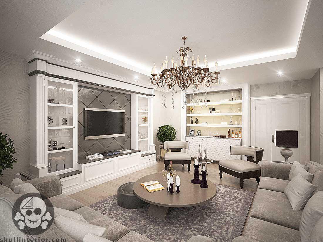 living room salon classical living room klasik salon tasarımı ...