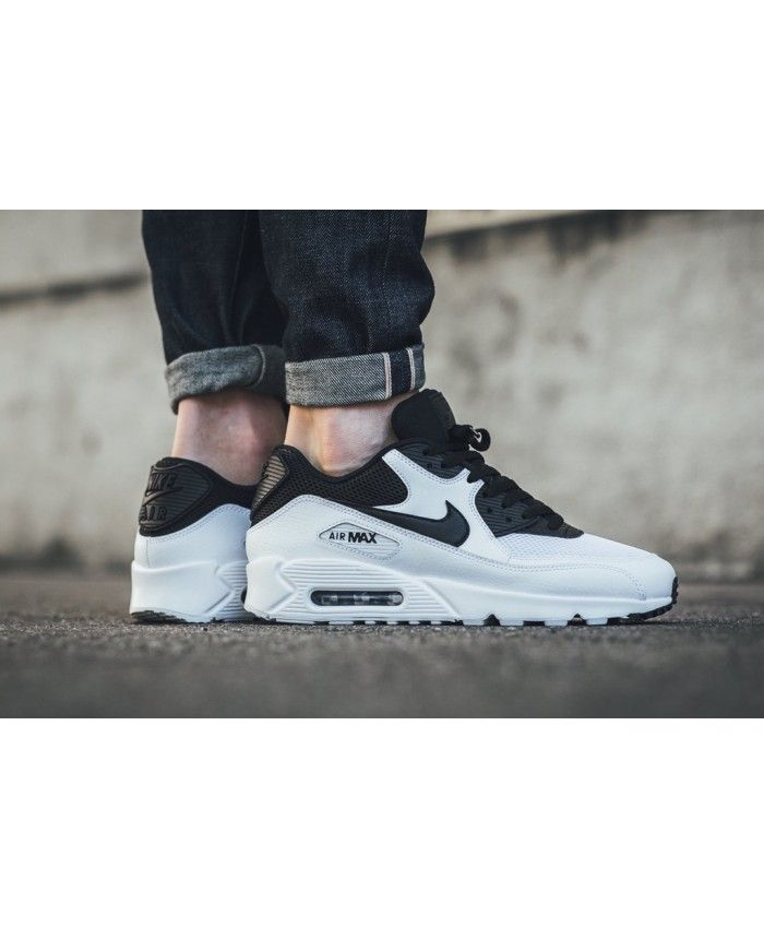 half price casual shoes professional sale Nike Air Max 90 Essential Goes Black White Shoes | 90 ...