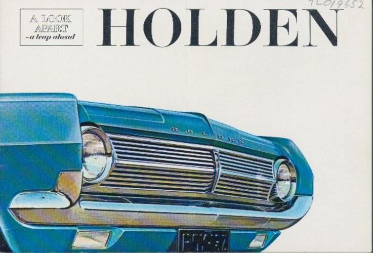 Publicity Brochure  General MotorsHoldenS Hd Holden Motor Car