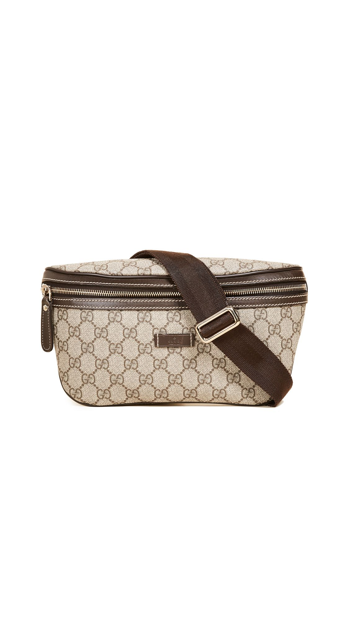 5d722bd81167 WHAT GOES AROUND COMES AROUND GUCCI CANVAS WAIST POUCH (PREVIOUSLY OWNED).  #whatgoesaroundcomesaround #