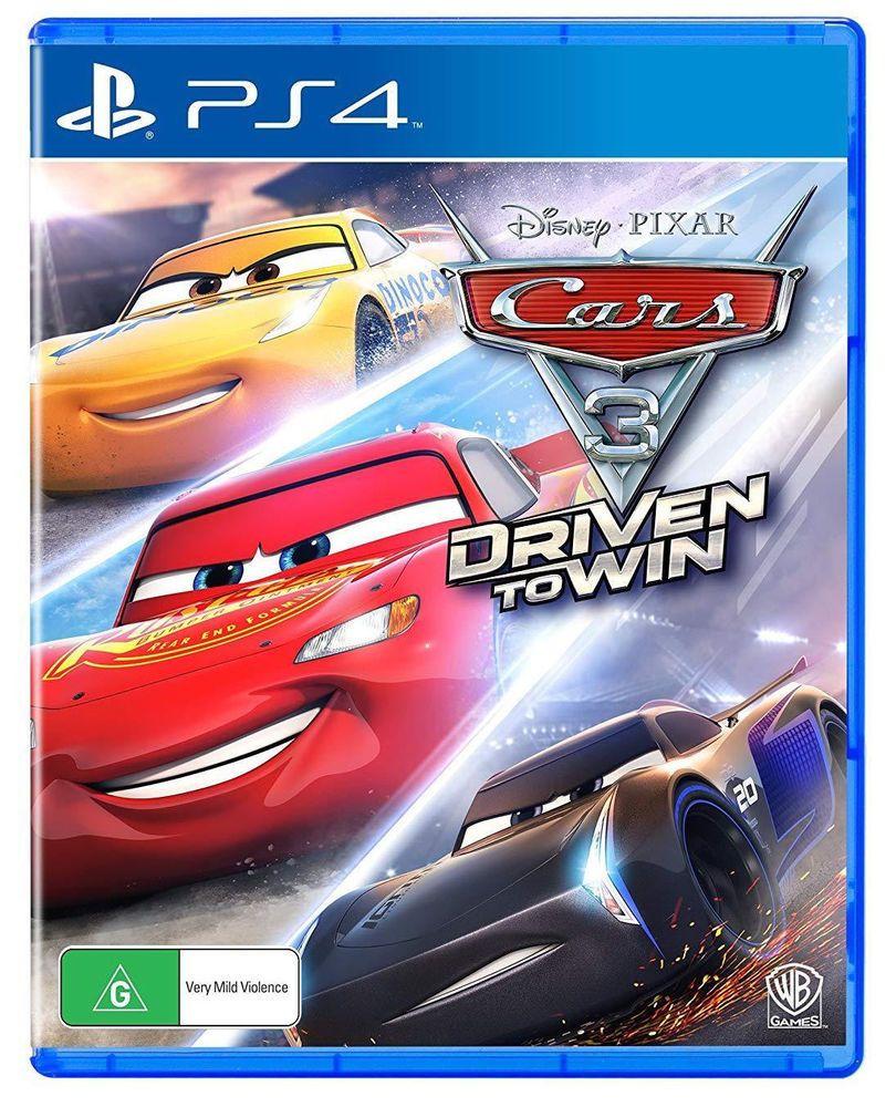 Cars 3 Driven To Win Disney Pixar Warner Bros Racing Game Sony