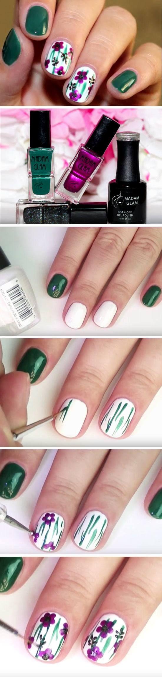 22 Easy Fall Nail Designs for Short Nails | Thanksgiving nails ...