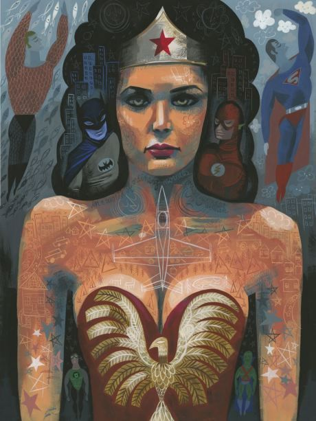Wonder Woman by Amanda Visell