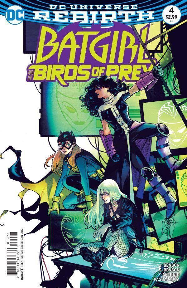 Batgirl And The Birds Of Prey 4 Variant 2016 Comic Books Art Batgirl Comics