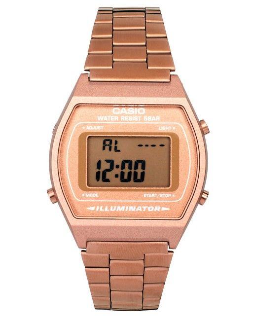 2504476b91b8 Reloj digital de pulsera color dorado rosa B640WC-5AEF de Casio ...