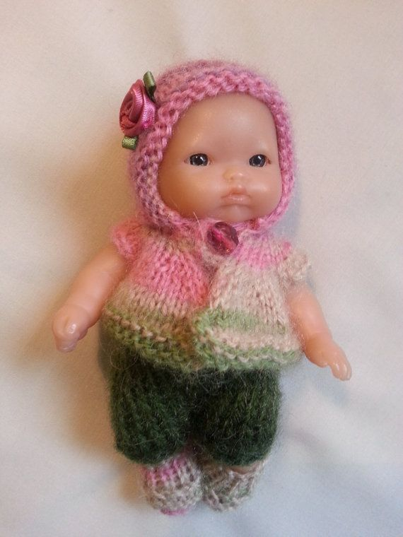Hand Knitted Dolls Clothes For 5 Berenguer Doll 0004 Doll