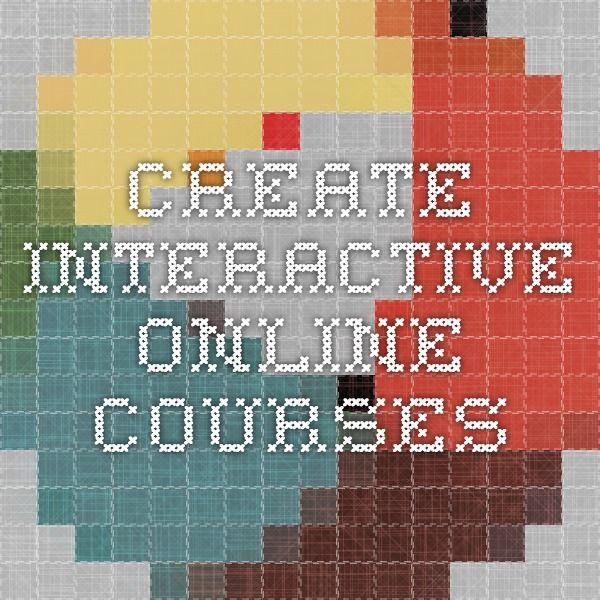 Create interactive online courses