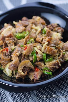 how to cook pork dinakdakan