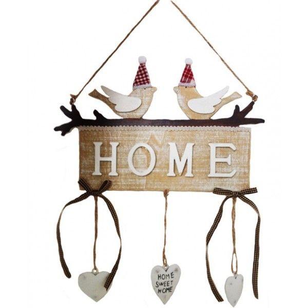 Zawieszka Drewniana Home 6637179899 Oficjalne Archiwum Allegro Christmas Inspiration Novelty Sign Inspiration